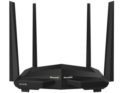 Picture of Tenda Dual Band AC 5dBi 4 Port Gigabit Router No USB | AC10